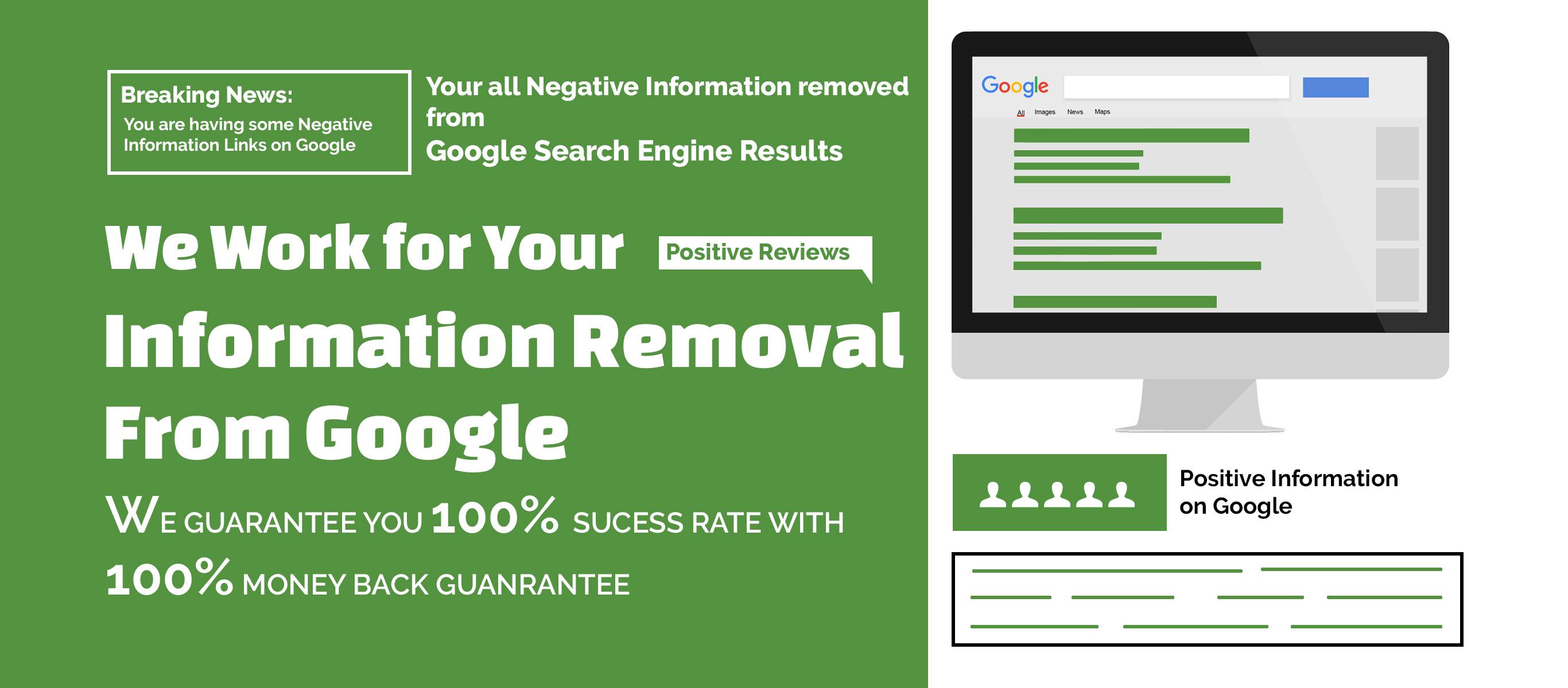 remove negative info